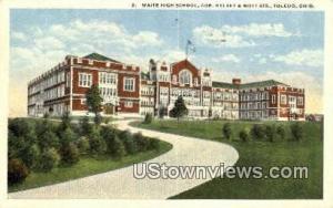 Cor Kelsey & Motts St Toledo OH 1918