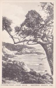 California Monterey County Cypress Point Coast Drive Albertype