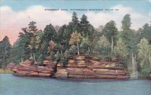 Steamboat Rock Picturesque Wisconsin Dells Wisconsin