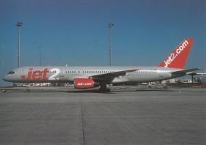 JET2, Boeing 757-27B, unused Postcard