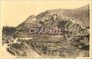 Postcard Old Castillon (A M) Around the Old Village of Sospel