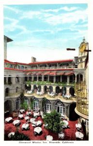 California  Riverside , Glenwood Mission Inn ,  Fresh Air Dining Area