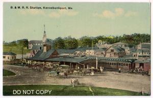 B & M RR Station, Kennebunkport Me