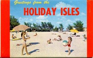 Folder - Florida.  Holiday Isles, St Petersburg   12 views + narrative