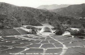 RP: HOLLYWOOD , California , 1940-50s ; Hollywood Bowl, Seating 20,000