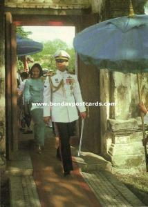 siam thailand, Crown Prince Vajiralongkorn in Uniform, Medals (1970s) I