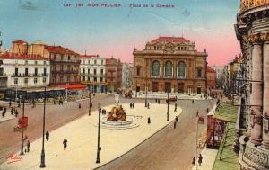 France CAP 164 Montpellier Place de la Comedie 01.52