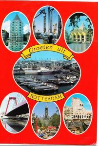 Holland, Netherlands, Groeten uit ROTTERDAM, used Postcard