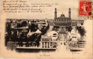 CPA PARIS EXPO 1900 - Le Trocadéro (306219)