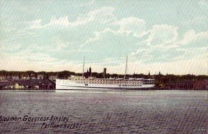 PRE-1907 PORTLAND, ME HARBOR STEAMER GOVERNOR DINGLEY