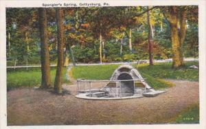 Pennsylvania Gettysburg Spangler's Spring