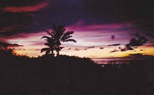 Colorful Sunset In Guam, Guam, 1940-1960s
