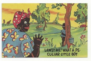 Black Americana, Lawsy Me! What a Peculiar Little Boy, 1930-40s