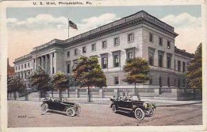 Automobiles, U. S. Mint, Philadelphia, Pennsylvania, 1910-1920s
