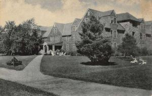 forest lodge pocono pines pennsylvania L4723 antique postcard