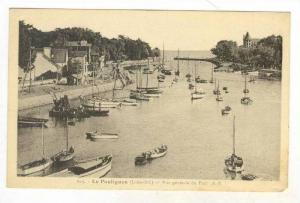 Sailboats, Vue Generale Du Port, Le Pouliguen (Loire Atlantique), France, PU-...