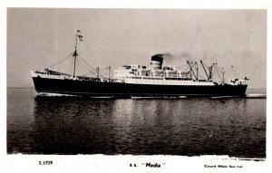 S.S> Media , Cunard WHite Star Line