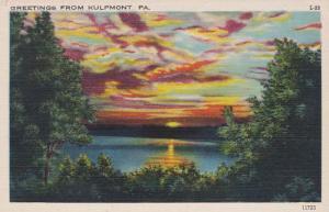 Pennsylvania Greetings From Kulpmont