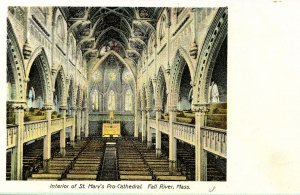 MA - Fall River. St. Mary's Pro-Cathedral