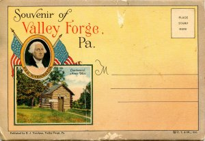 Folder - Valley Forge, PA         16 views + narrative