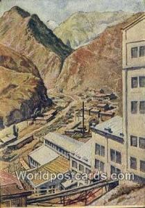 Russia, Soviet Union Die Fabrik, Nord Ossetien Misur Die Fabrik, Nord Ossetie...