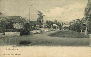 indonesia, JAVA SOERABAIA, Unknown Street Scene (1899) Postcard