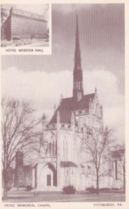 Pennsylvania Pittsburgh Heinz Memorial Chapel