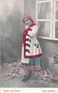 Typen aus Polen, Typy polskie, traditional polish clothing costume Feldpost 1917