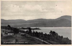 Quebec  Lac Megantic    La Pointe Beaule