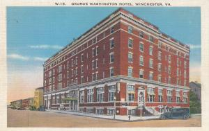 WINCHESTER , Virginia , 1910s-20s; George Washington Hotel