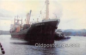 MV Speco Ace Home Port Yokohama, Japan Ship Postcard Post Card Home Port Yoko...