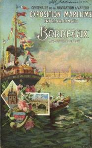 Exposition Maritime Internationale Bordeaux (1907) French Expo Advertisement