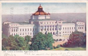 Washington D C Library Of Congress 1907