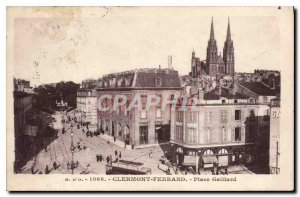 Postcard Old Clernont Ferrand Place Gaillard