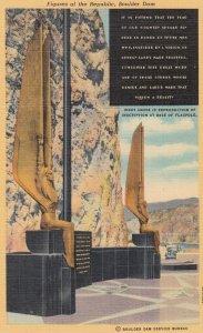Boulder Dam , Nevada , 30-40s ; Figures