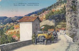Grimaldi - Ventimiglia - Italy - Border Crossing to France - pm 1920 - DB