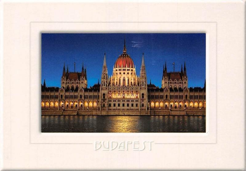 Hungary Budapest Parlament, Parliament Front view