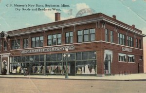 ROCHESTER, Minnesota, 1916; C.F. Massey's New Store, Dry Goods & Ready to Wear