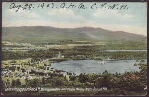 Lake Winnepesaukee,NH,Winnepesaukee and Centre Harbor