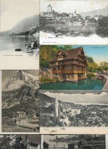 Switzerland Spiez Postcard Lot of 20 01.11