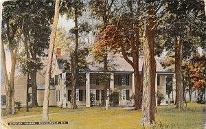 ny-schuylerville Schuyler Mansion Unused