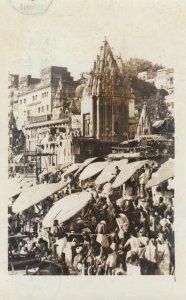 RP: BOMBAY , India , 40-50s ; Busy Street Scene