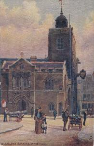 RAPHAEL TUCK & SONS', #6258; LONDON, England, 1900-1910's; All Hallows, Barki...