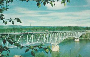 PRINCE GEORGE , B.C. , Canada , 40-60s ; Bridge at Fraser River