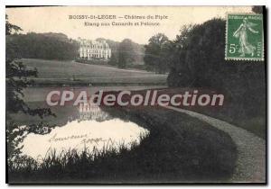 Postcard Old Boissy St Leger Chateau Du Piple