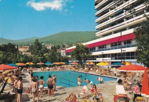 Opatija, Hotel Ambasador, Swimming Pool, Croatia 1950-60´s