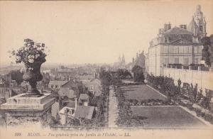 Vue Generale Prise Du Jardin De l'Eveche, Blois (Loir et Cher), France, 1900-...