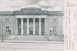 New Jersey Paterson Public Library 1905
