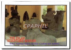 Modern Postcard The Cham Sculpture Museum Bao Tang Cham God Khac Da Nang Vietnam