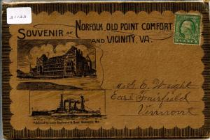 Folder - VA - Norfolk, Old Point Comfort & Vicinity  23 views+covers **Small ...